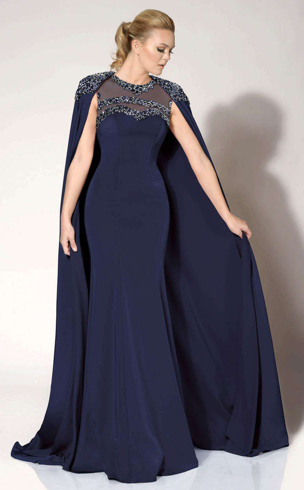 MNM Couture 10840 Navy/Blue