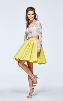 Tarik Ediz 93136 Yellow/White