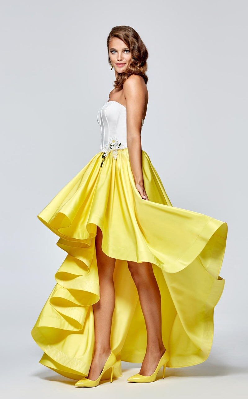 Tarik Ediz 93137 Yellow/White