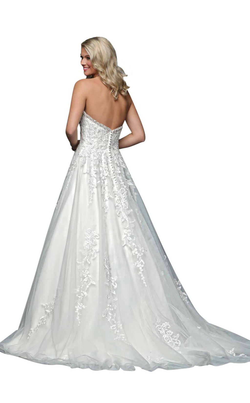 Jadore Bridal 77002 White