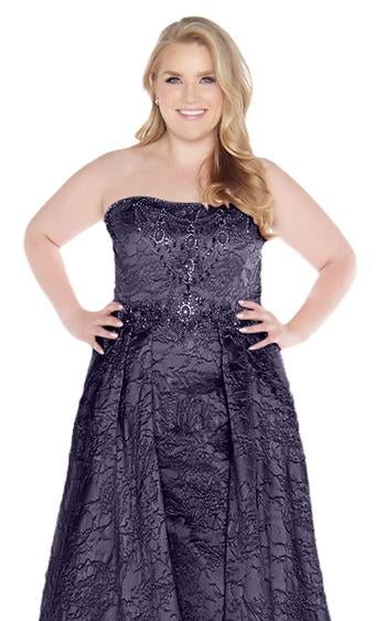 Mac Duggal Fabulouss 77353F Midnight