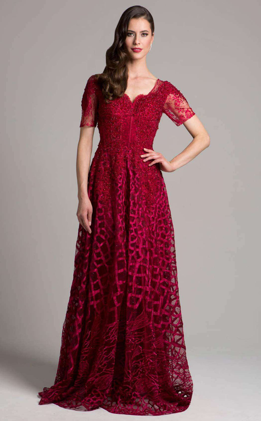 Lara 33278 Dark Red