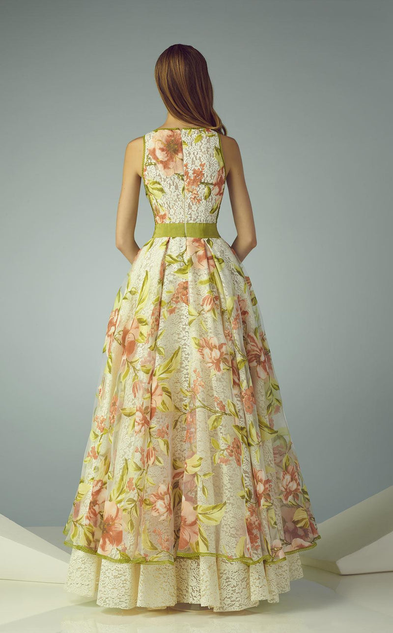 Beside Couture BC1231 Floral Multi Print