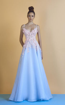 Beside Couture BC1244 Blue/Pink