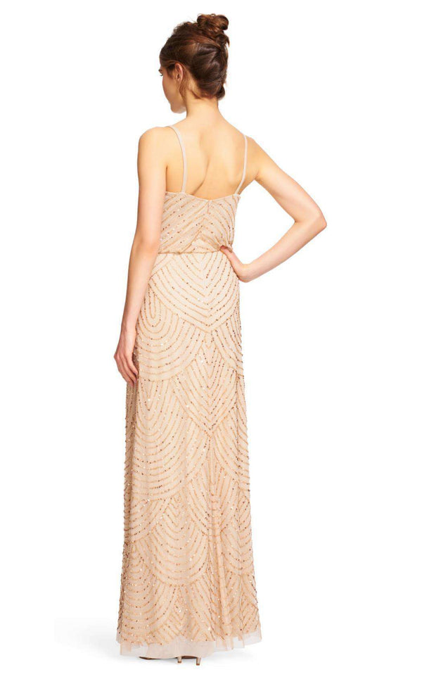Adrianna Papell 91866700 Champagne/Gold