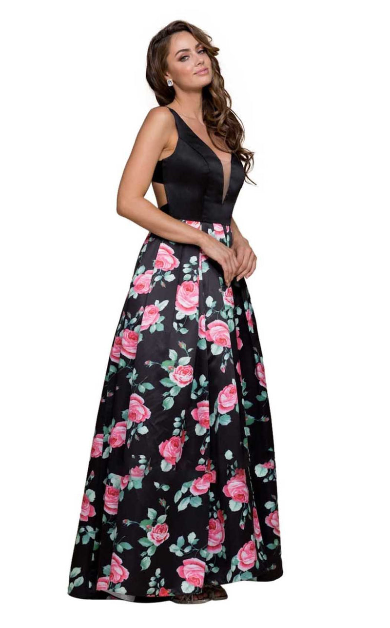 Nox Anabel NX-8351 Floral-Patterns