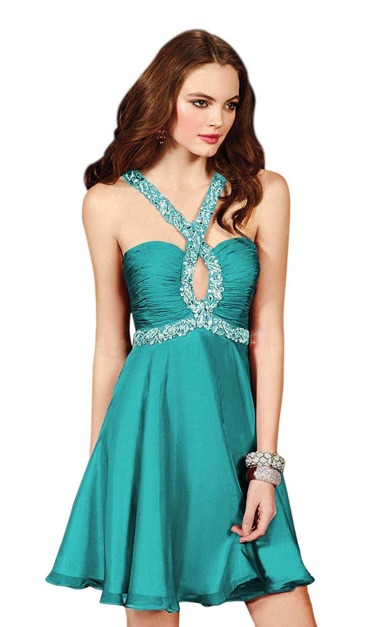 Alyce 4409 Turquoise