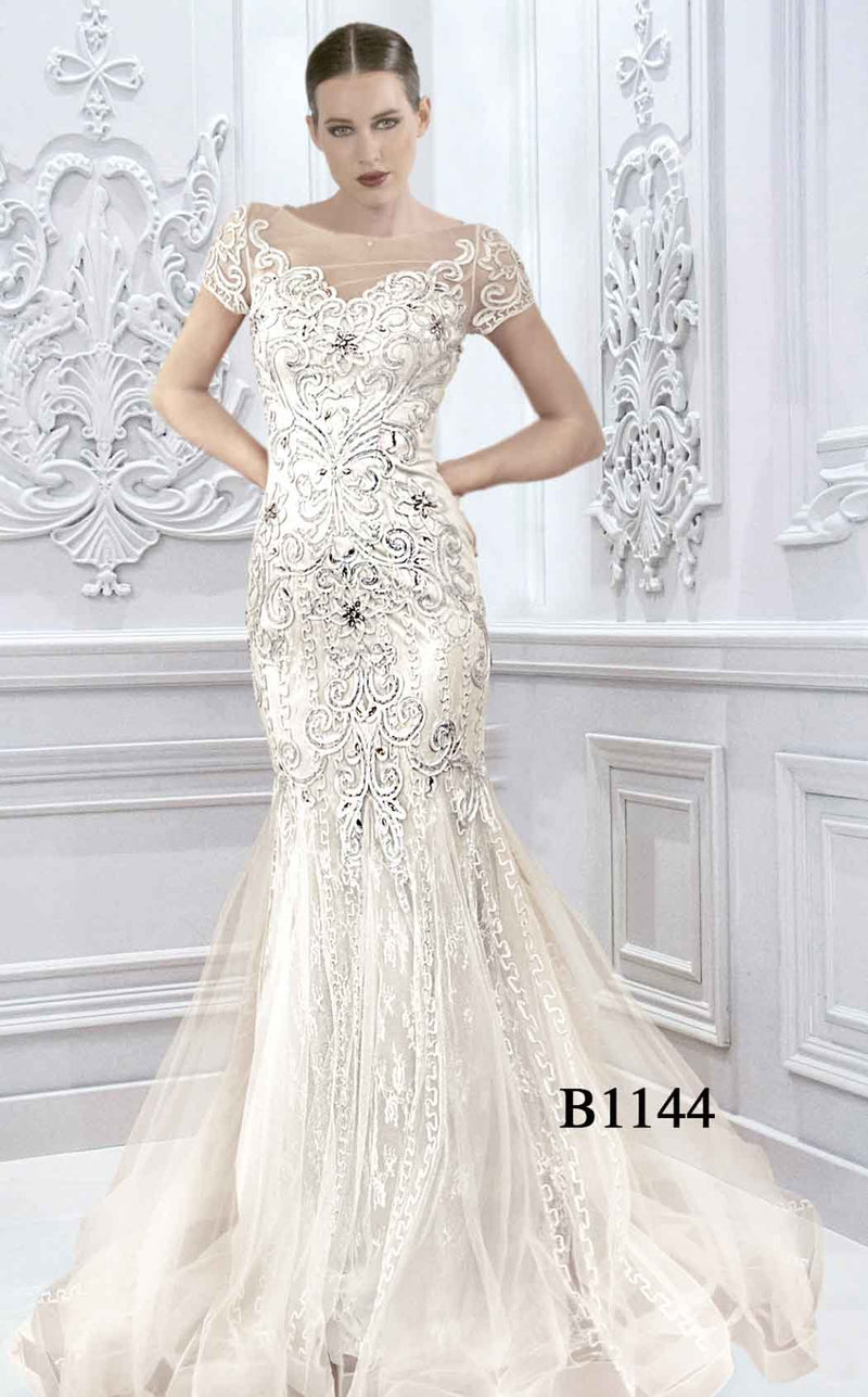 Faust B1144 Dress White