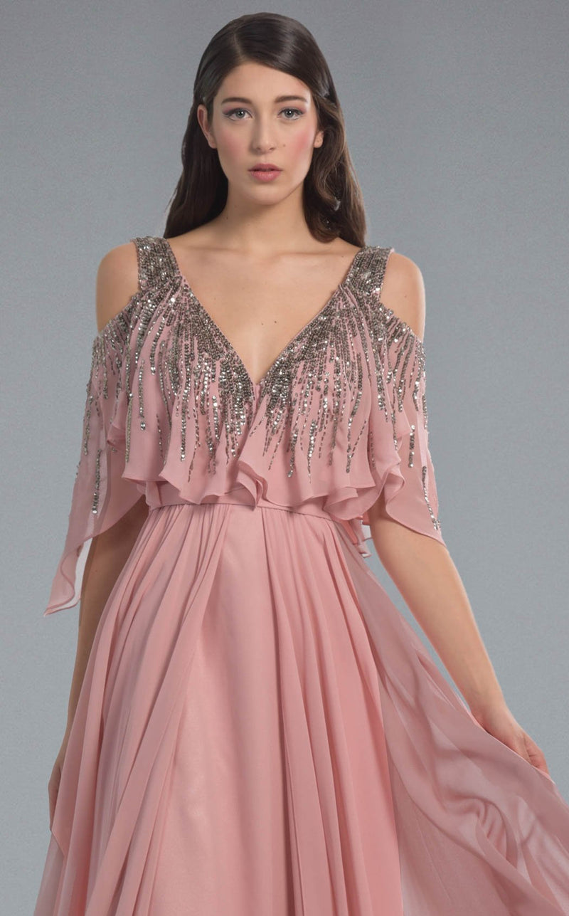 Faust B563 Dress Rose