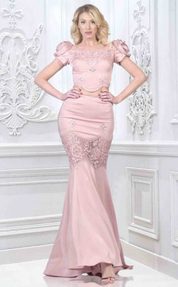 Faust B598 Dress Rose
