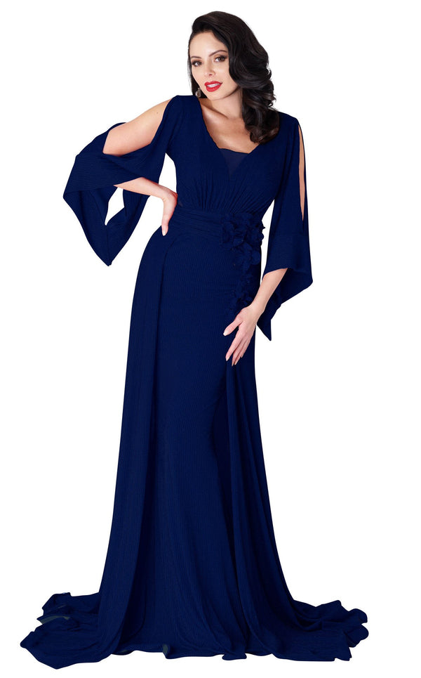 MNM Couture F4670 Navy-Blue