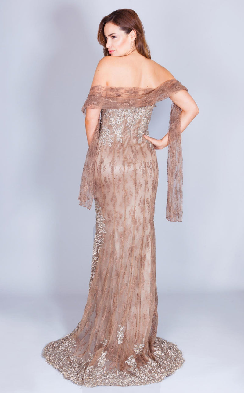 Faust HEF504 Dress Taupe