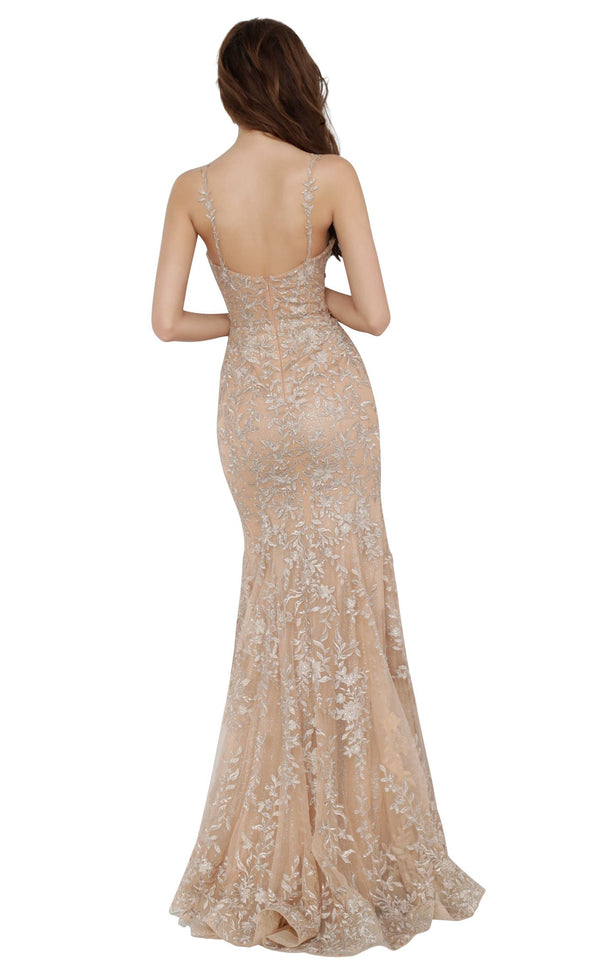 JVN JVN00908 Dress Gold