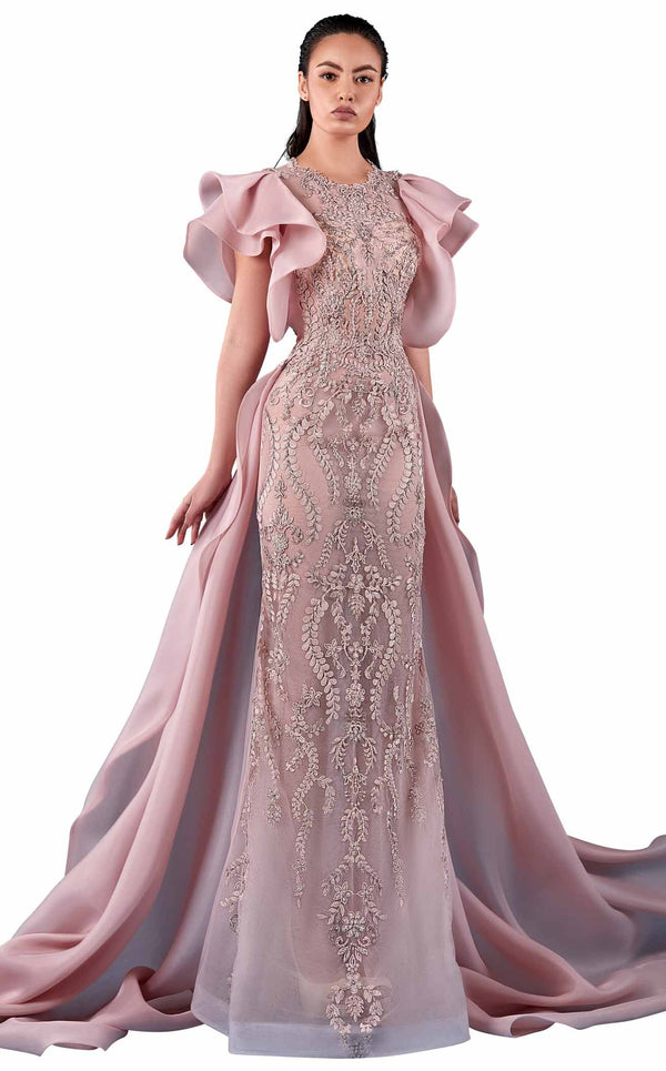 MNM Couture K3754 Dress Pink