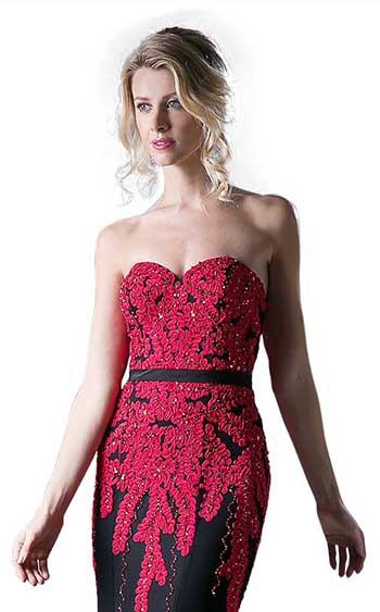 Cinderella Divine KD081 Red-Black