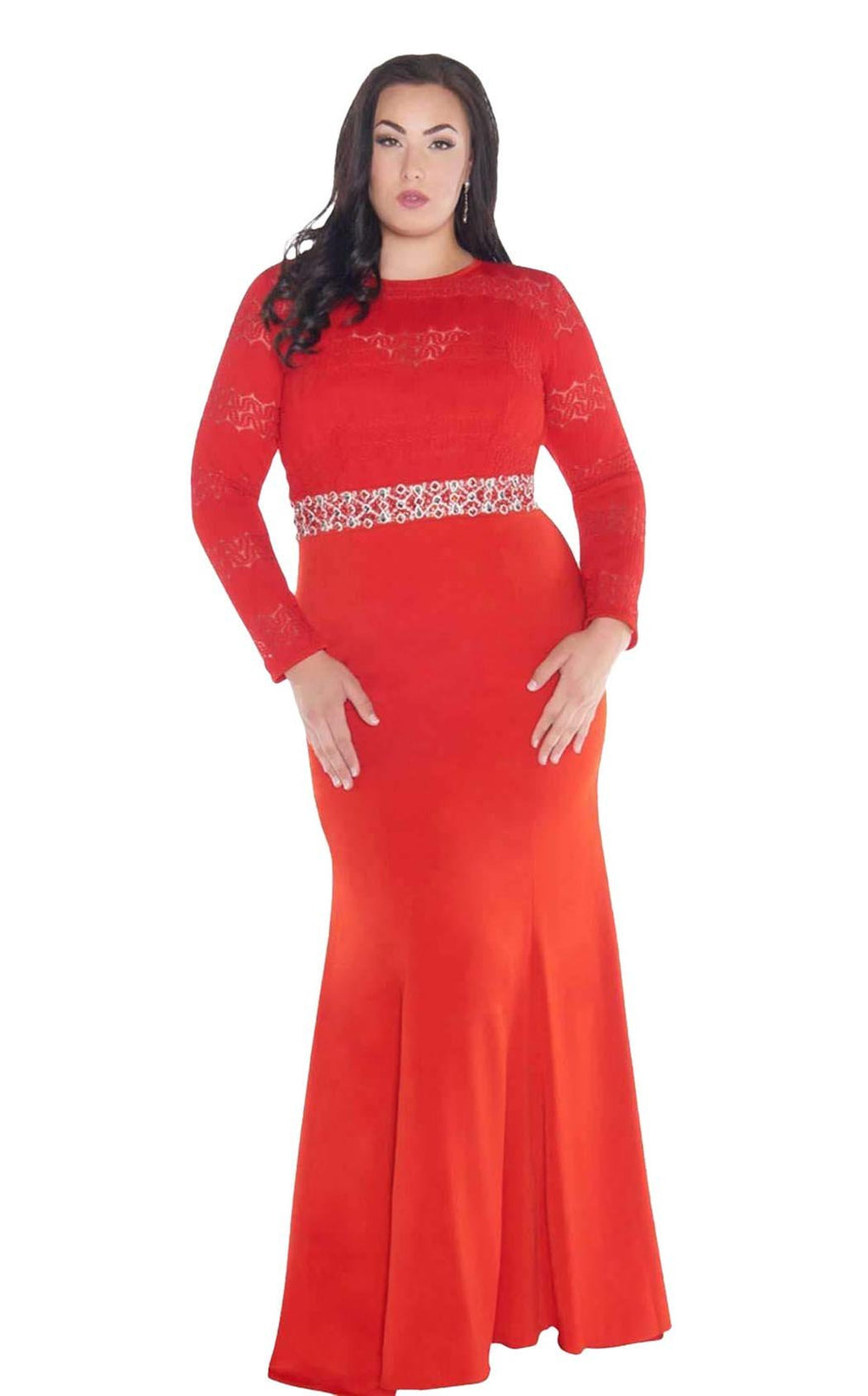 Mac Duggal Fabulouss 77383F Red