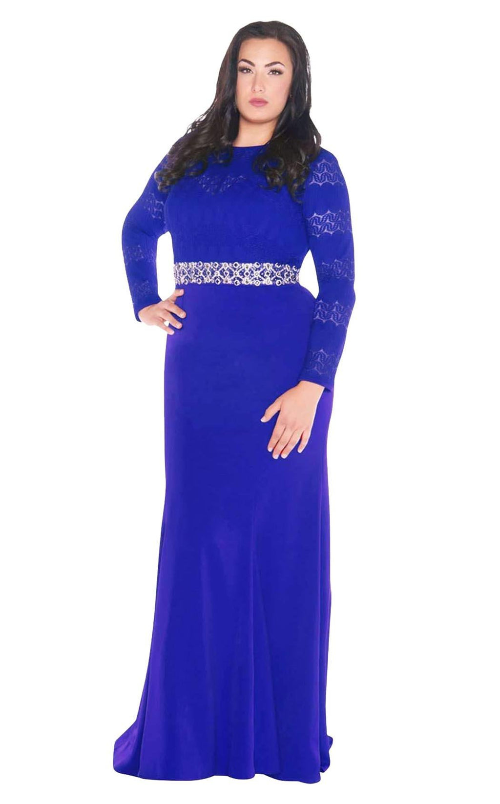 Mac Duggal Fabulouss 77383F Royal