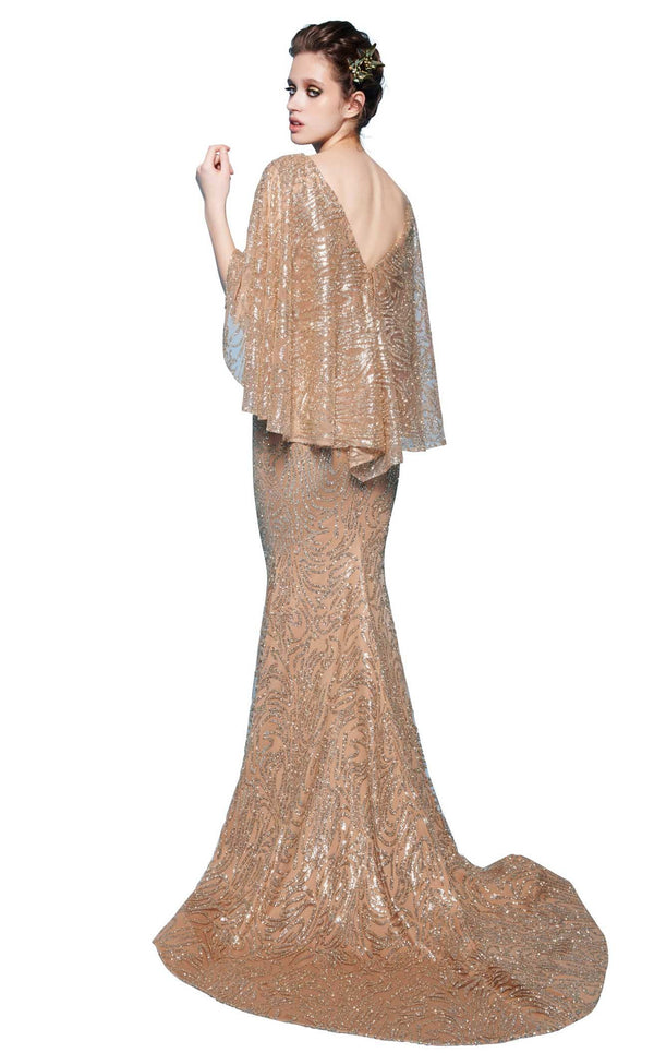 MNM Couture N0245 Gold