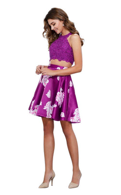Nox Anabel NX-6219 Floral-Patterns