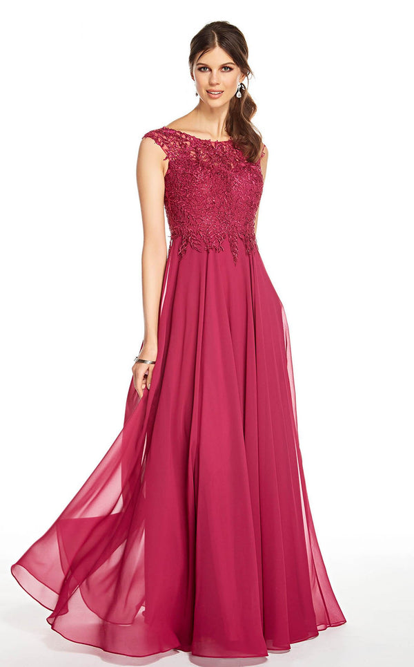 Alyce 27327 Dress Sangria