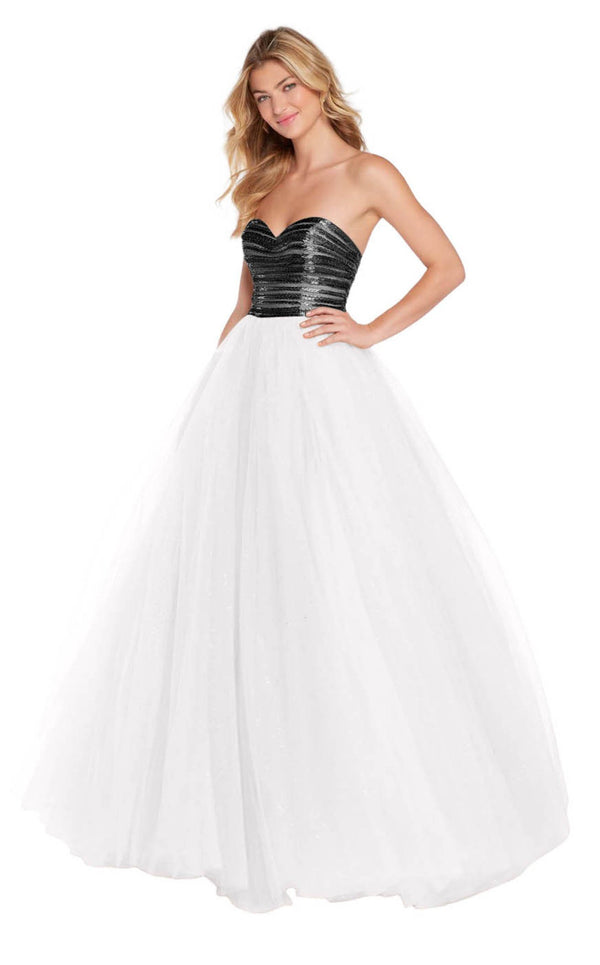 Alyce 60145 Diamond-White-Black