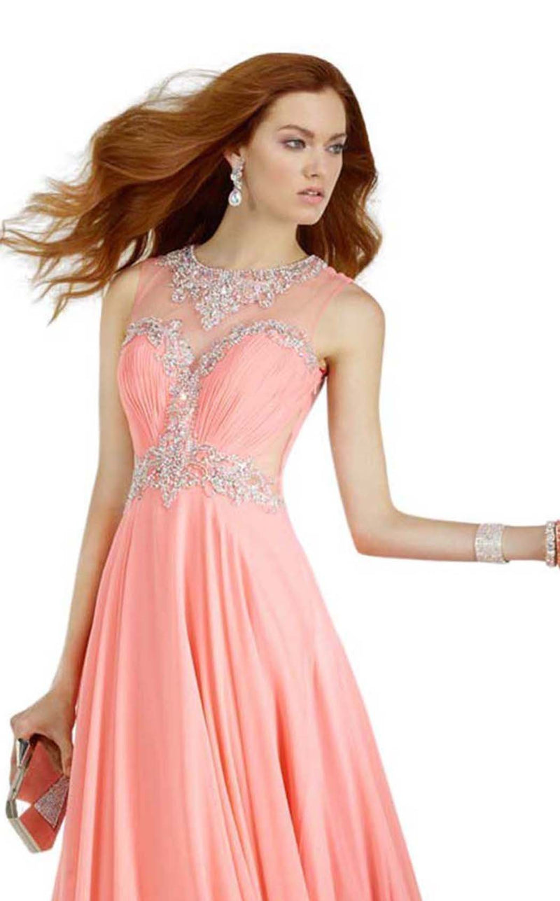 Alyce 6544 Pink-Coral
