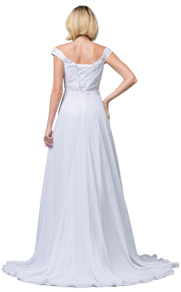 Dancing Queen 137 Dress White