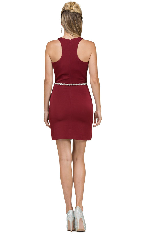 Dancing Queen 2065 Dress Burgundy