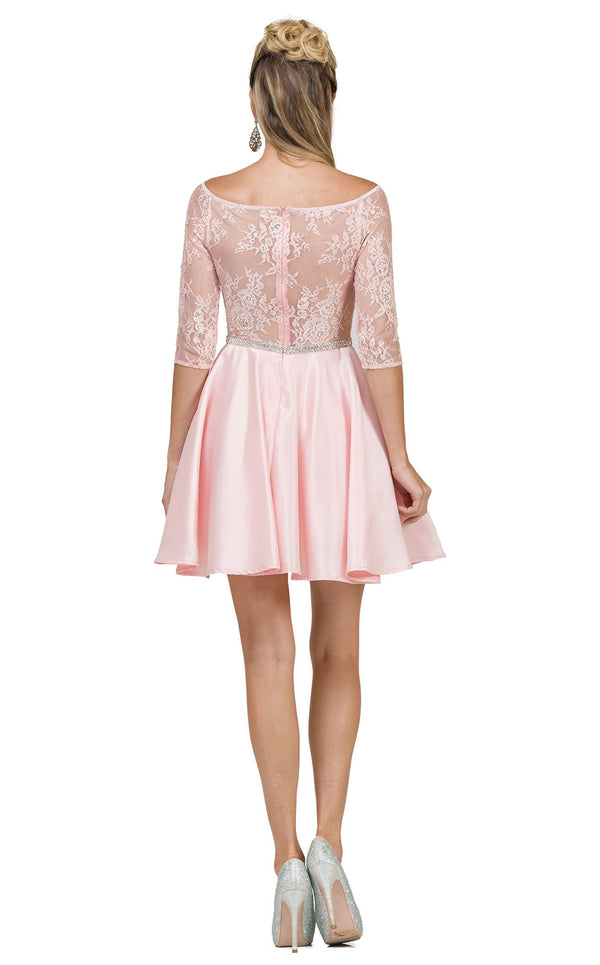 Dancing Queen 2112 Dress Blush