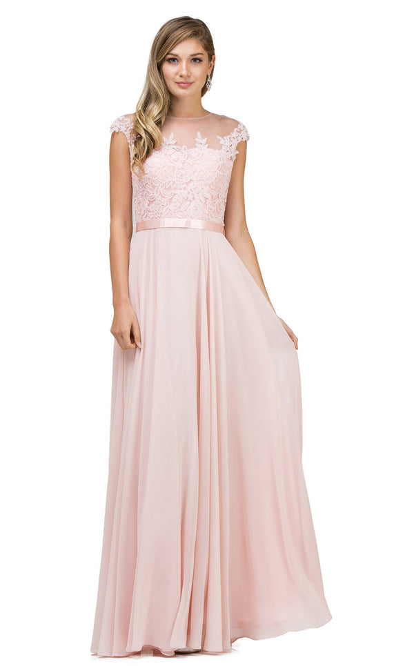 Dancing Queen 2121 Dress Blush