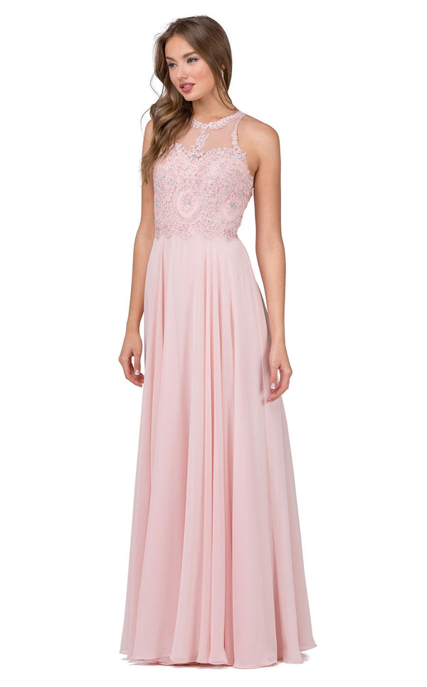 Dancing Queen 2234 Dress Blush