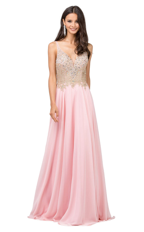 Dancing Queen 2259 Dress Blush