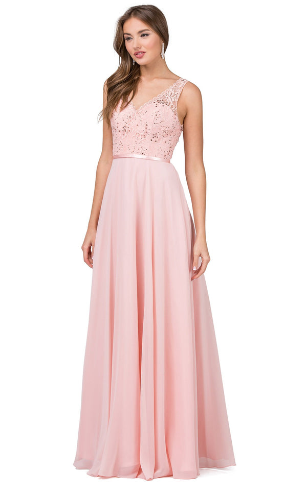 Dancing Queen 2267 Dress Blush