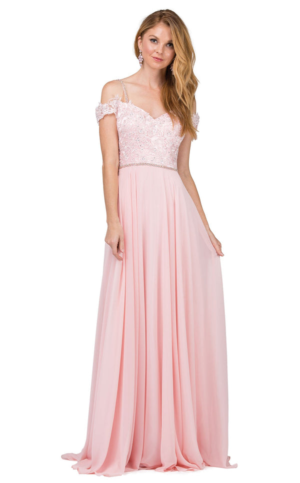 Dancing Queen 2327 Dress Blush