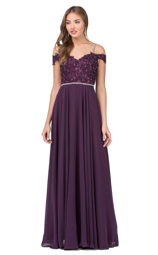Dancing Queen 2327 Dress Plum