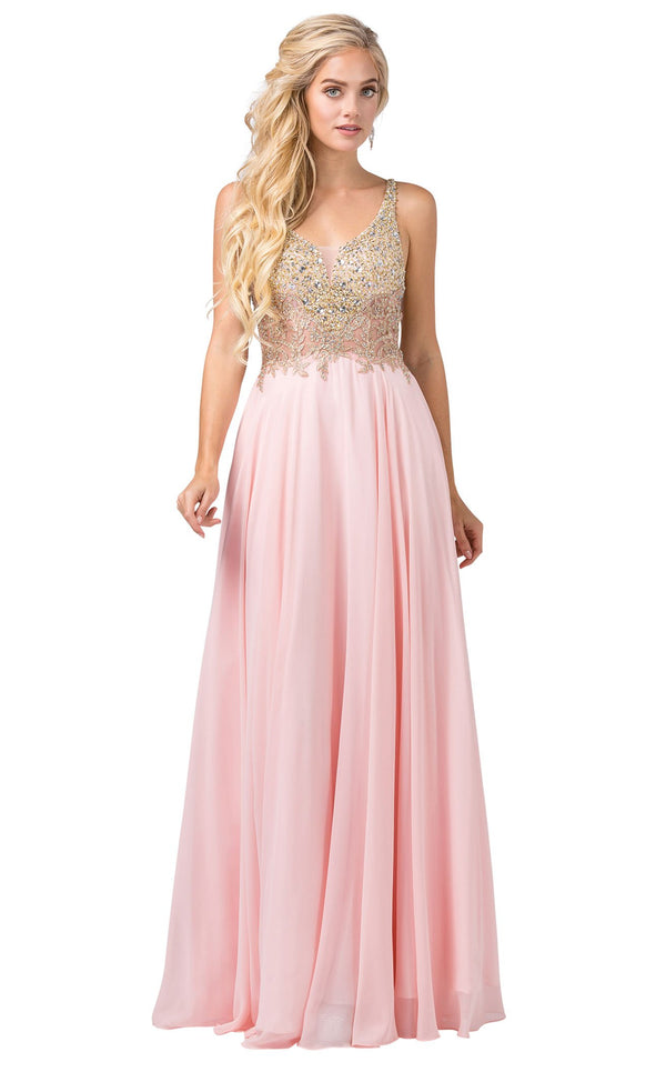 Dancing Queen 2494 Dress Blush