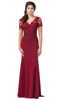 Dancing Queen 2535 Dress Burgundy