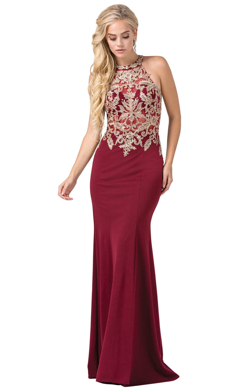 Dancing Queen 2555 Dress Burgundy