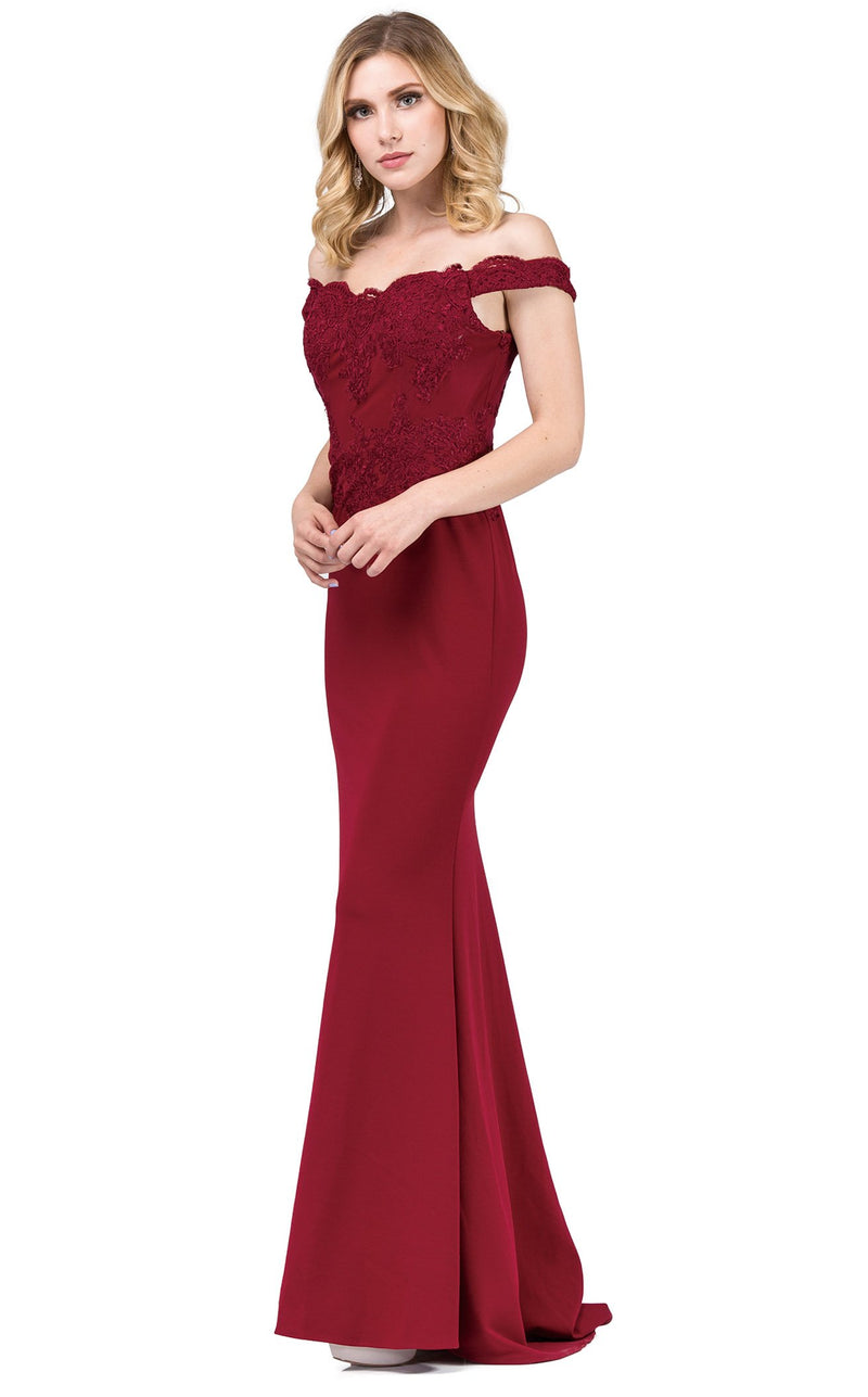 Dancing Queen 2562 Dress Burgundy