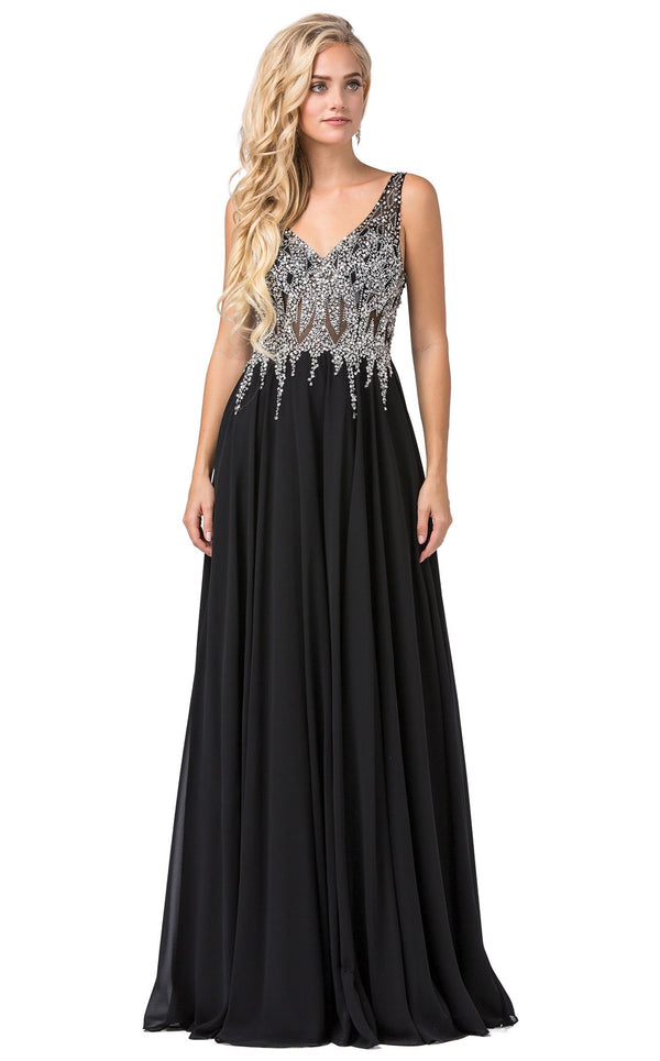 Dancing Queen 2570 Dress Black