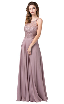 Dancing Queen 2678 Dress Mocha