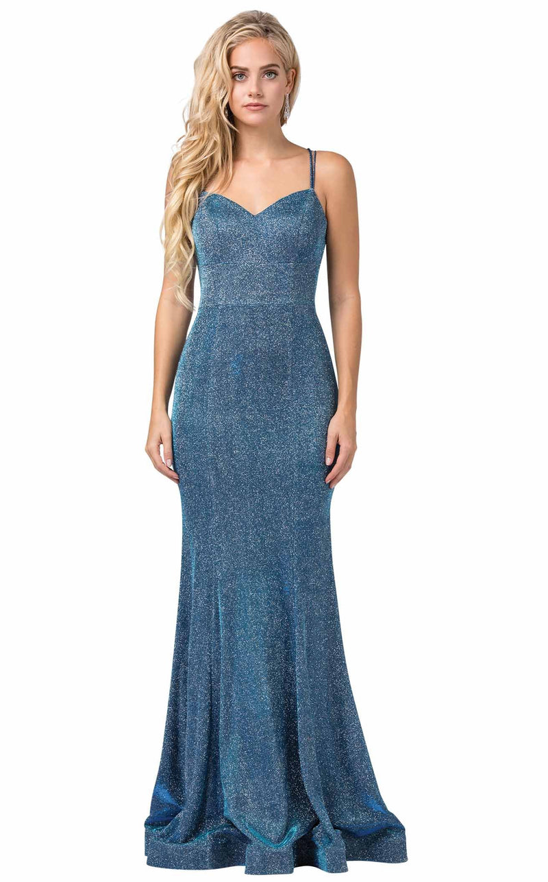 Dancing Queen 2698 Dress Blue