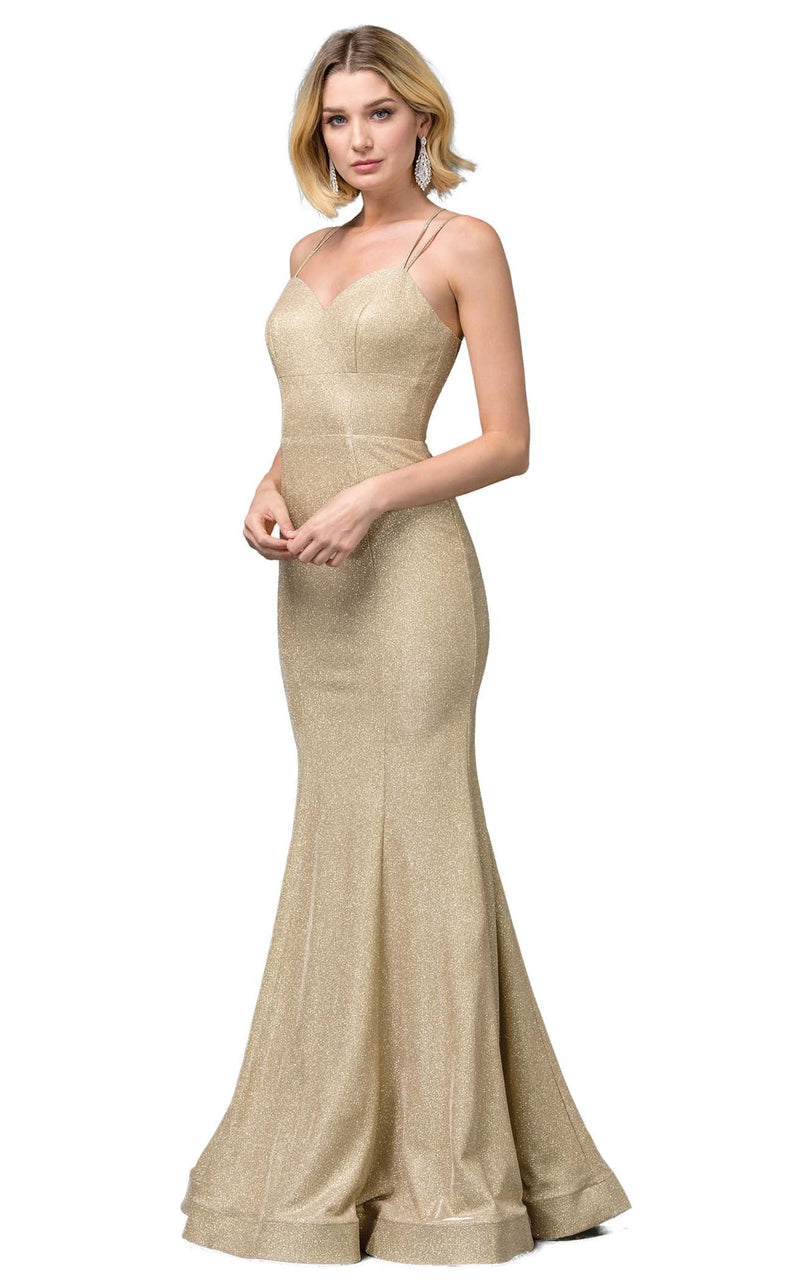 Dancing Queen 2698 Dress Gold
