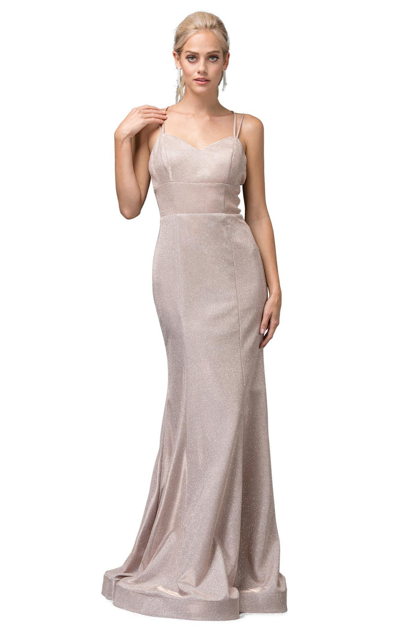 Dancing Queen 2698 Dress Rose-Gold