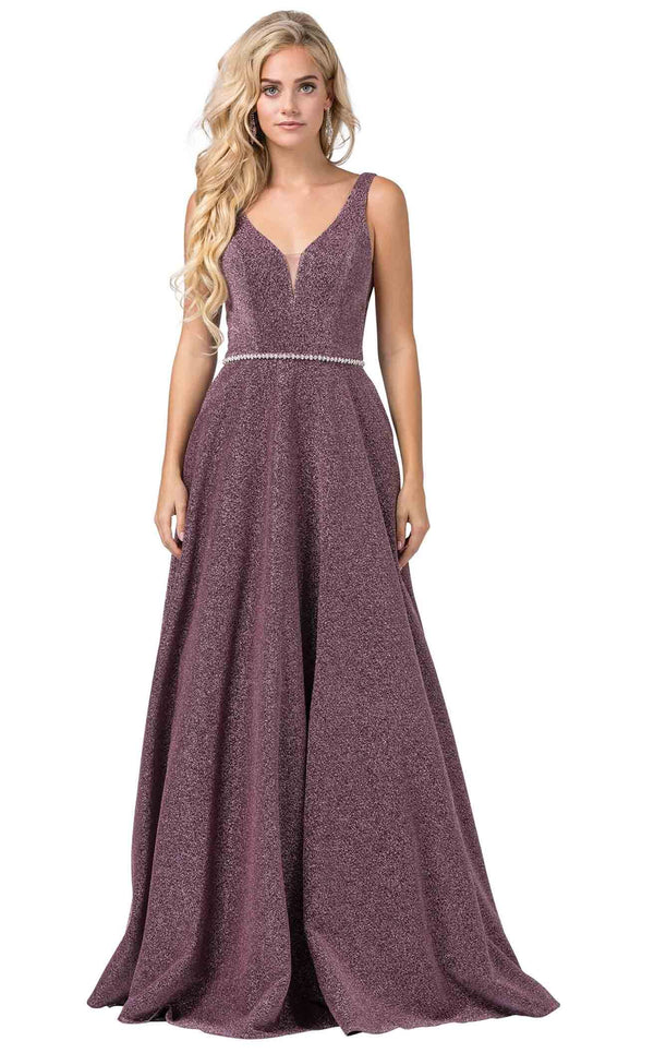 Dancing Queen 2706 Dress Mauve