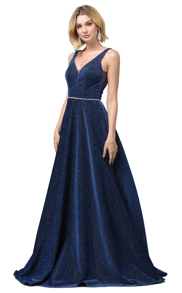 Dancing Queen 2706 Dress Navy
