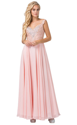 Dancing Queen 2818 Dress Blush