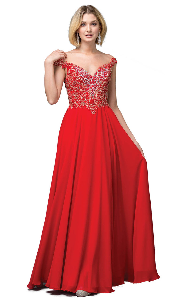Dancing Queen 2818 Dress Red