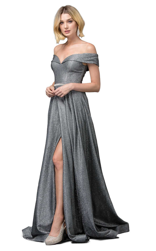 Dancing Queen 2824 Dress Charcoal
