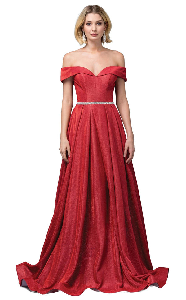 Dancing Queen 2824 Dress Red